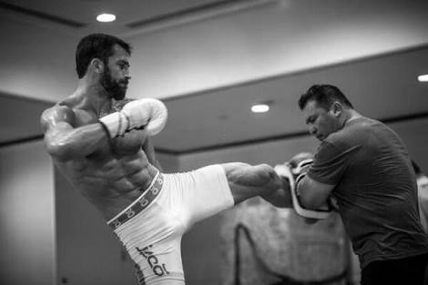 kickboxing workout gloves