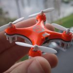 Drone Cameras with Infrared Sensing devices