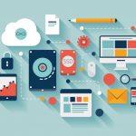 Standard job of  web design for online services