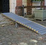 PMR slope  for Wheelchair Ramp -  Semi-Permanent and Portable